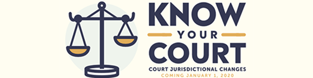 know your court logo